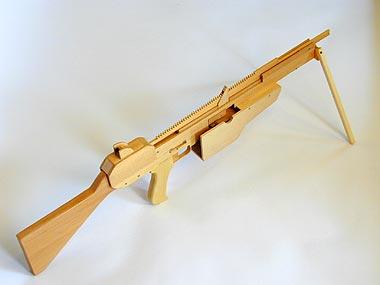 ゴム銃のオッグクラフト P203タンデムバレル